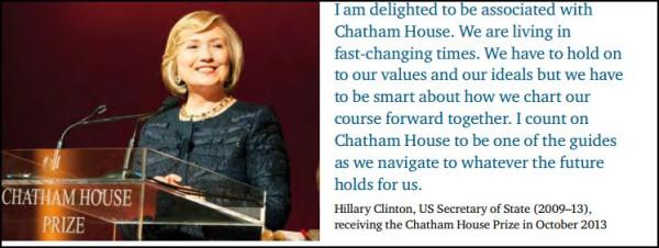 Хилари Клинтон о ЧХ