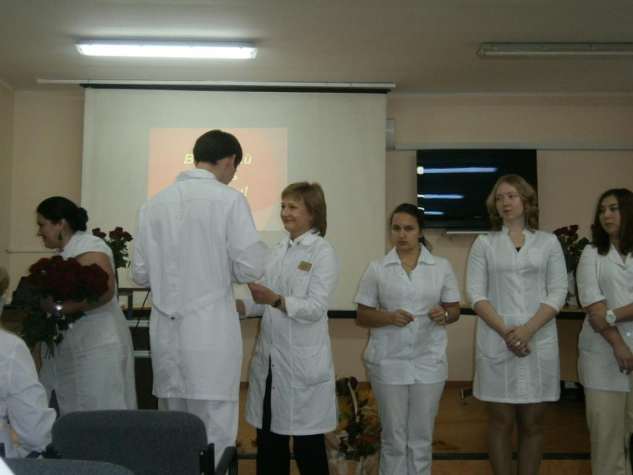 Поздравление главного врача О.О.Галаховой