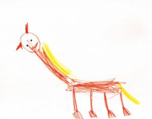 Лошадь-с-желтой-гривой-Детский-рисунок-1361519705_85