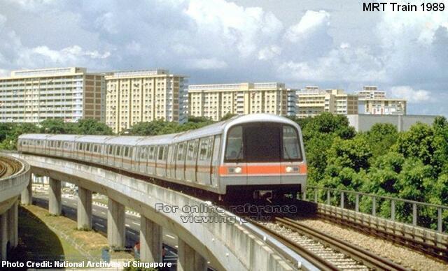 Поезд MRT 1988 год