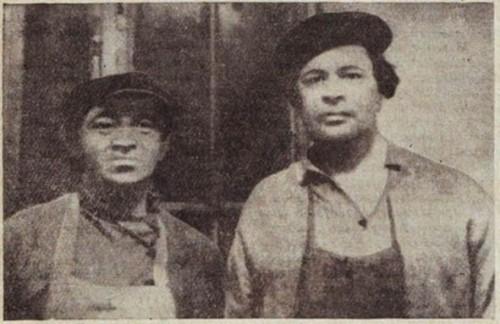 Соломон Михоэлс и граф Алексей Толстой