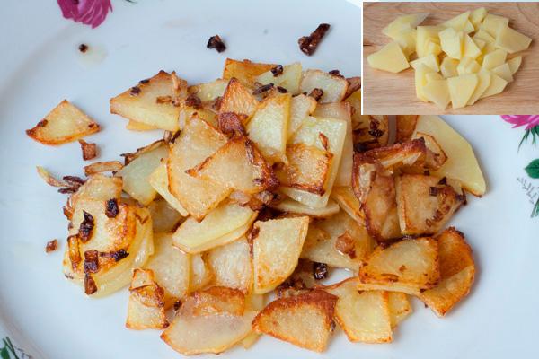 Как сделать чтобы картошка не была сухой 89