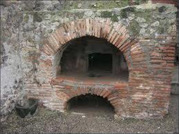 римская печь