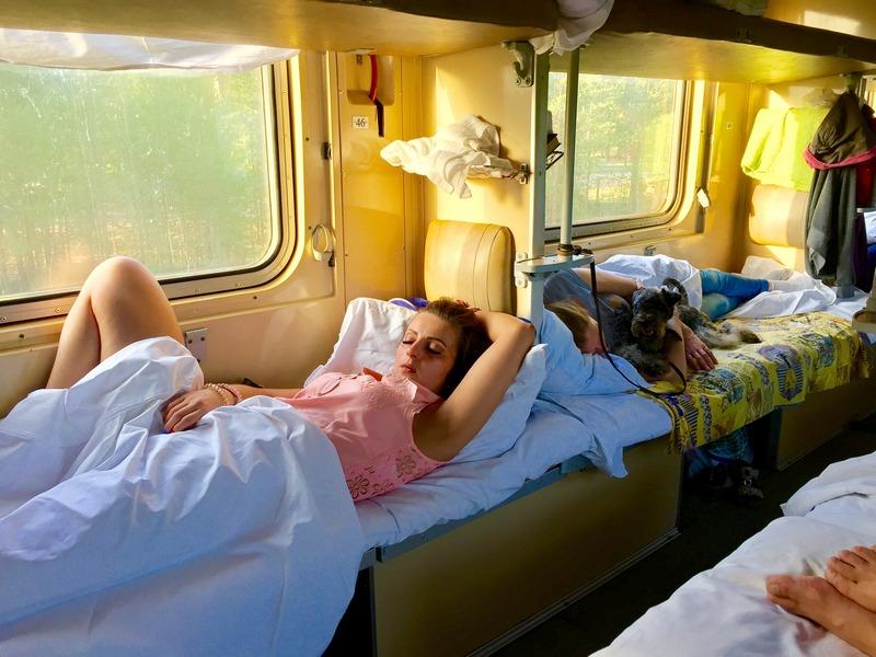 Русские девушки в поезде фото видео клиторы