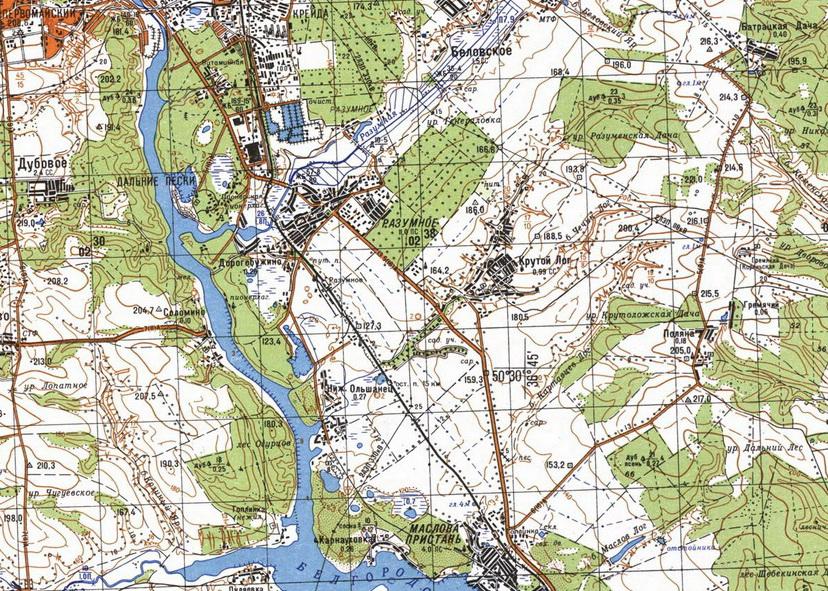 карта Белгород2