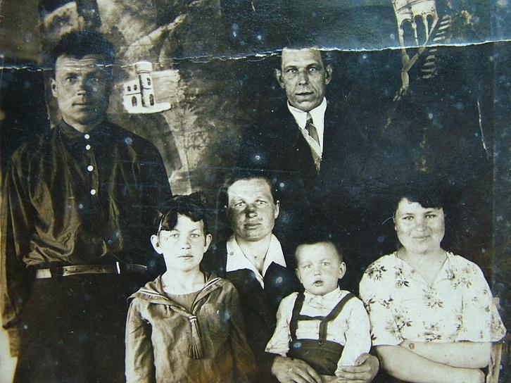 1937-38 Шабановы и Холодовы 2