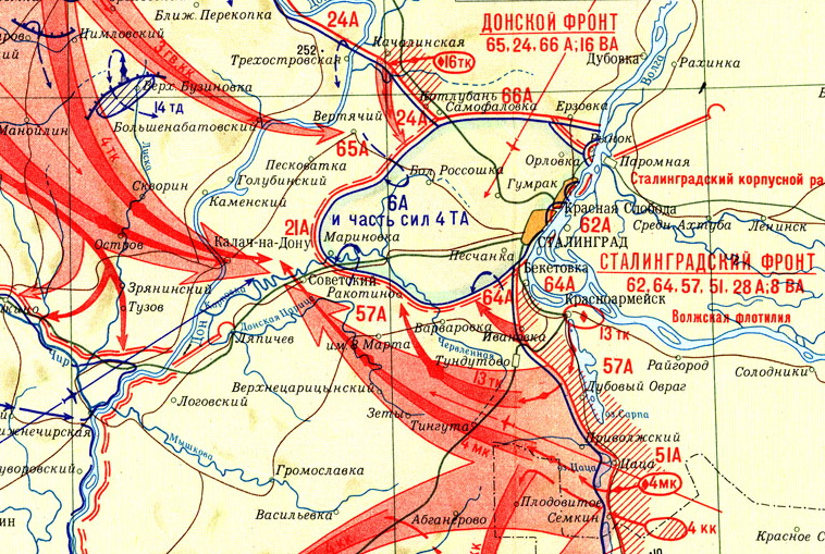 под Сталинградом. 19-30