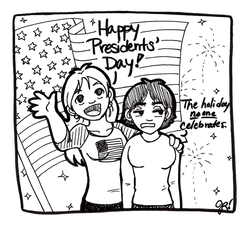 Presidents' Day by Jezunya