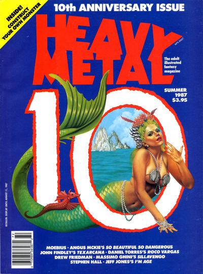 Heavy Metal Magazine vol. 11 #2