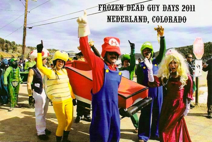 Frozen Dead Guy Days 2011 postcard 1