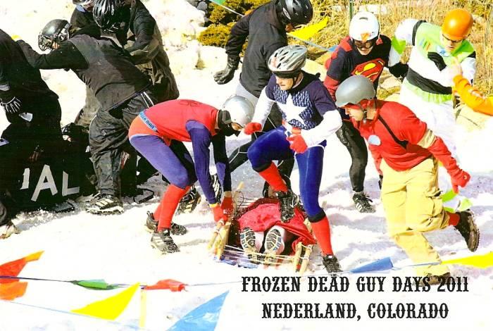 Frozen Dead Guy Days 2011 postcard 4