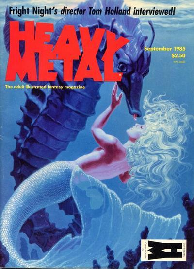 Heavy Metal Magazine vol 9 #6
