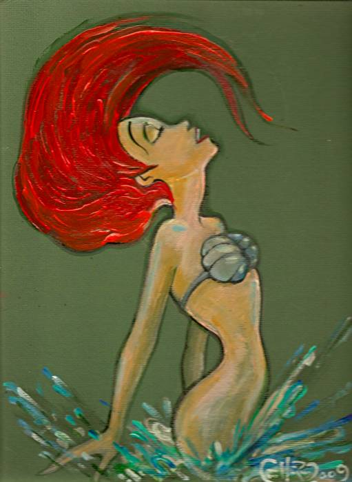 Ariel (The Little Mermaid) by Peter Gullerud