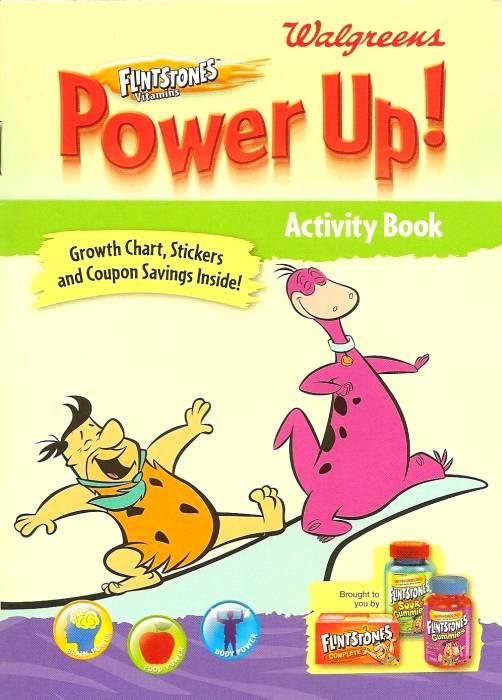 Flintstones Power Up! Activity Book