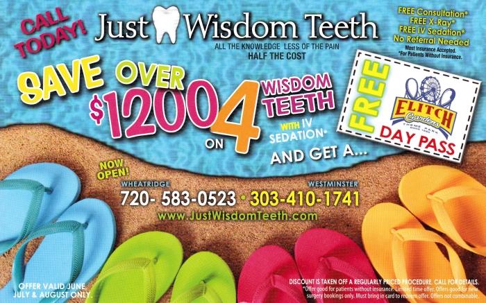 Just Wisdom Teeth postcard