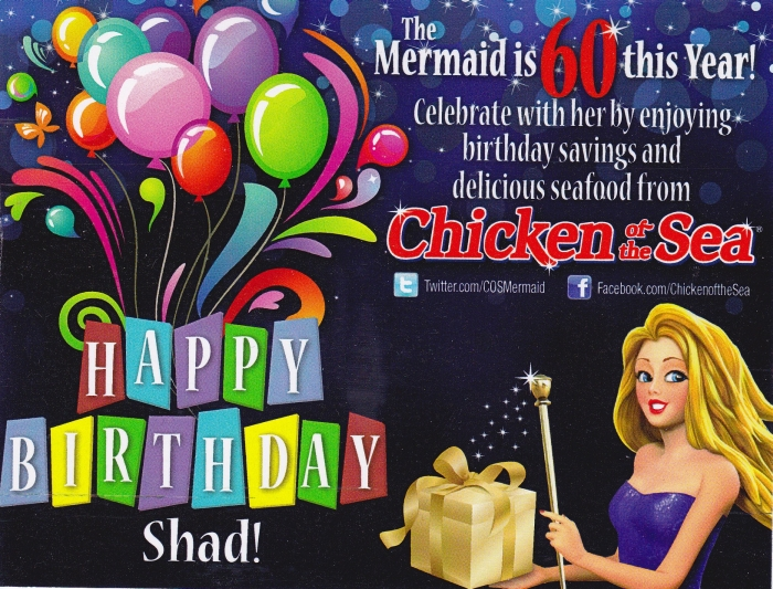 Happy Birthday from Chicken of the Sea 2012