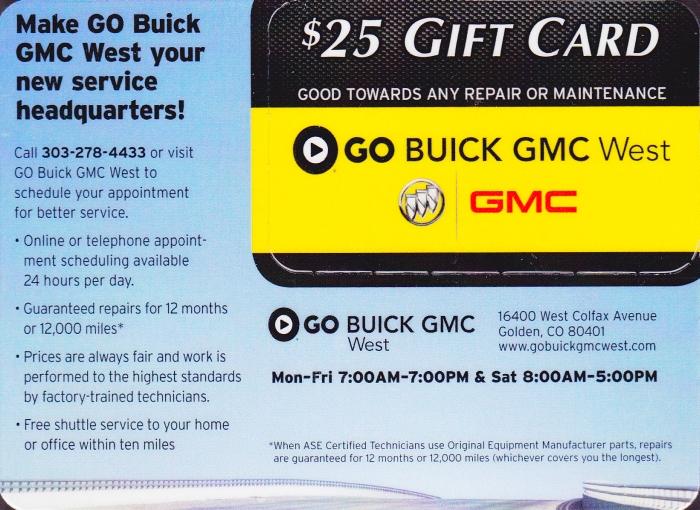Go Buick GMC West