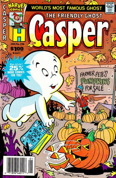The Friendly Ghost, Casper #238