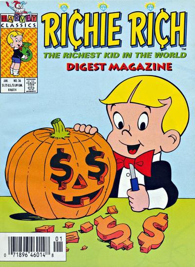 Richie Rich Digest Magazine #36