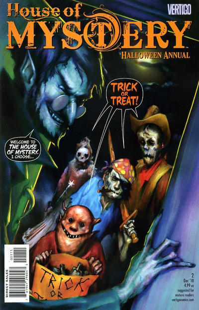 House of Mystery Halloween Annual #2