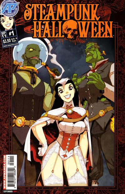 Steampunk Halloween #1