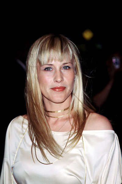 Patricia Arquette in a breeze