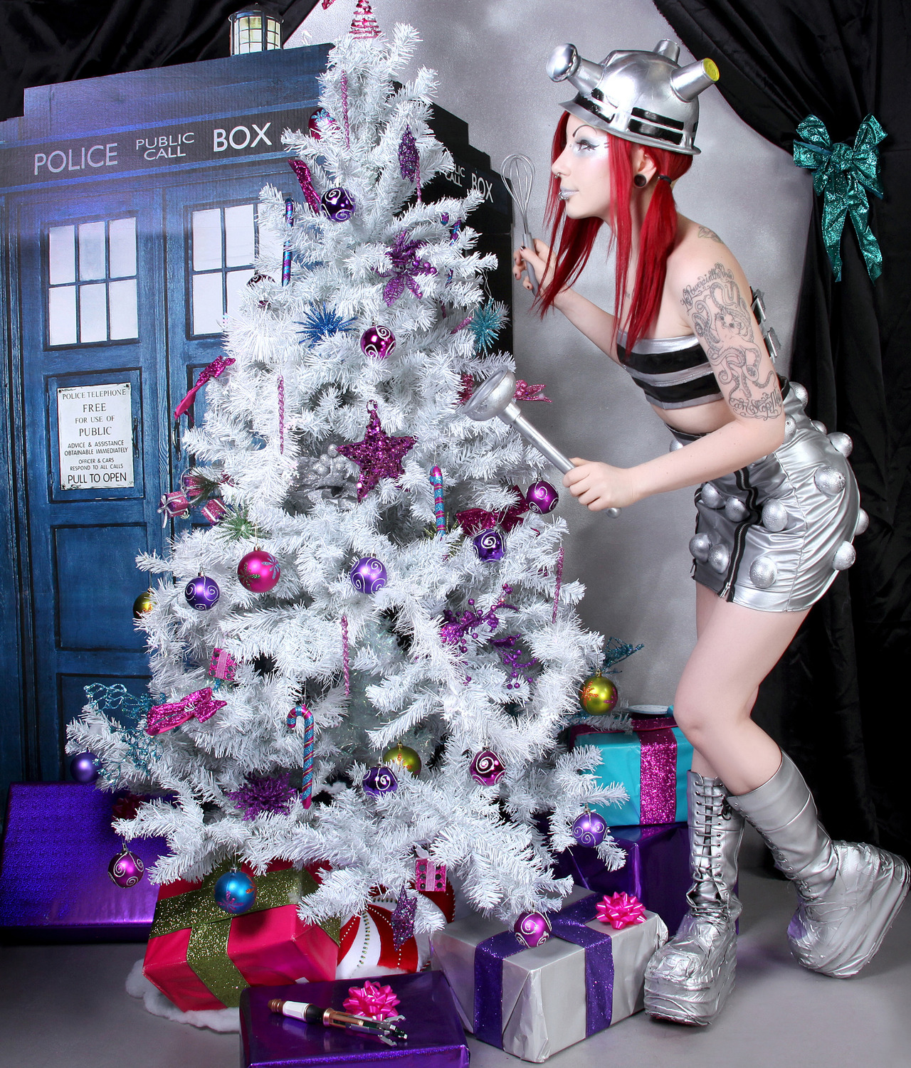 Dalek girl Christmas