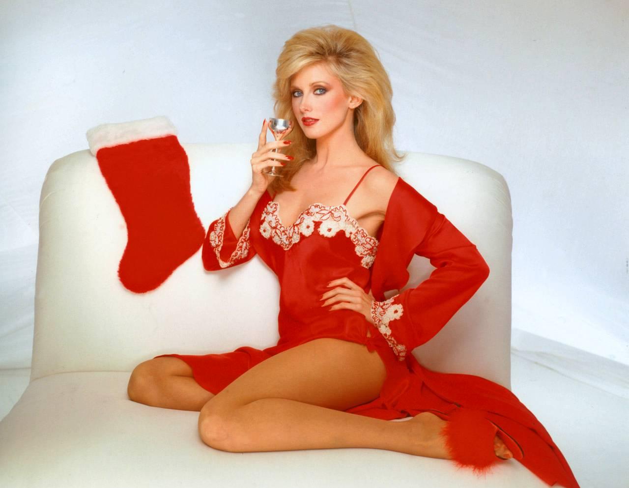 Morgan Fairchild S Christmas Morning Swing With Shad