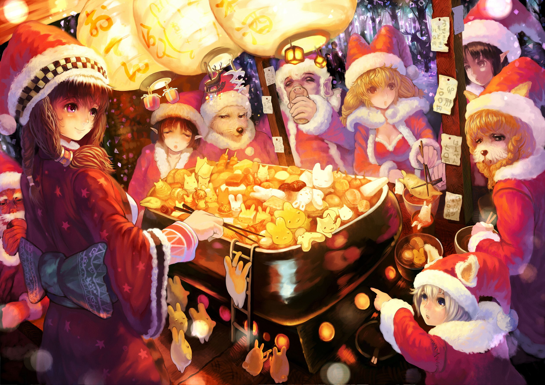 Christmas scene by Sakai Yoshikuni
