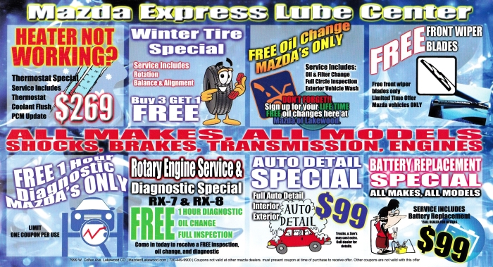 Mazda Express Lube Center