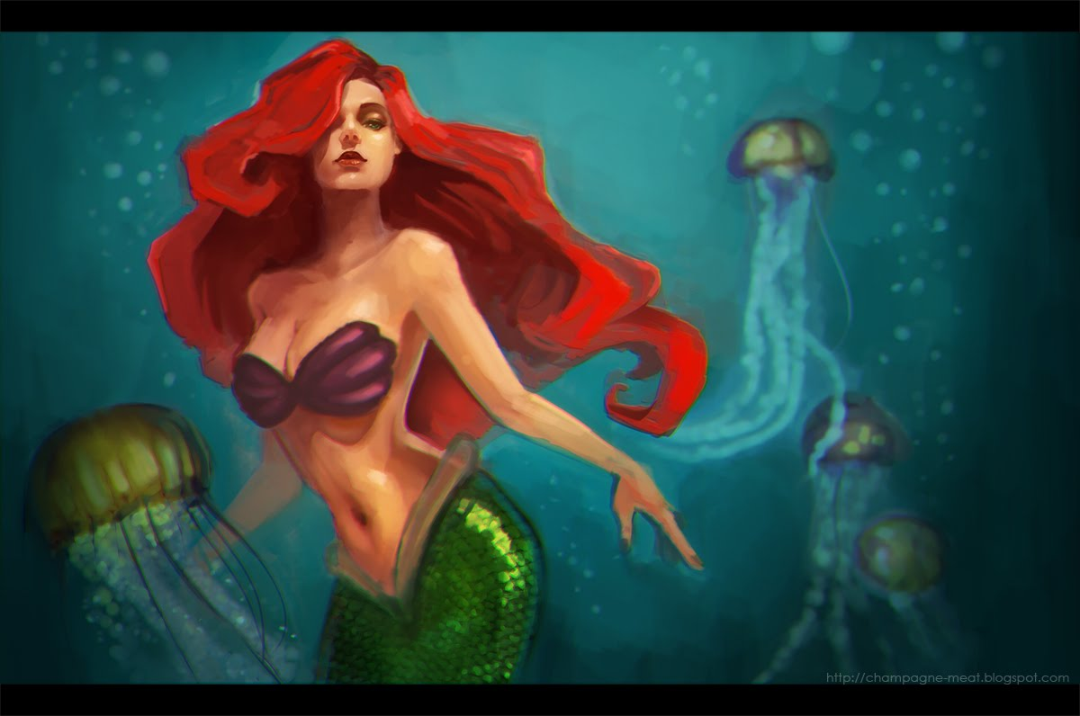 'The Little Mermaid' by Charmaine