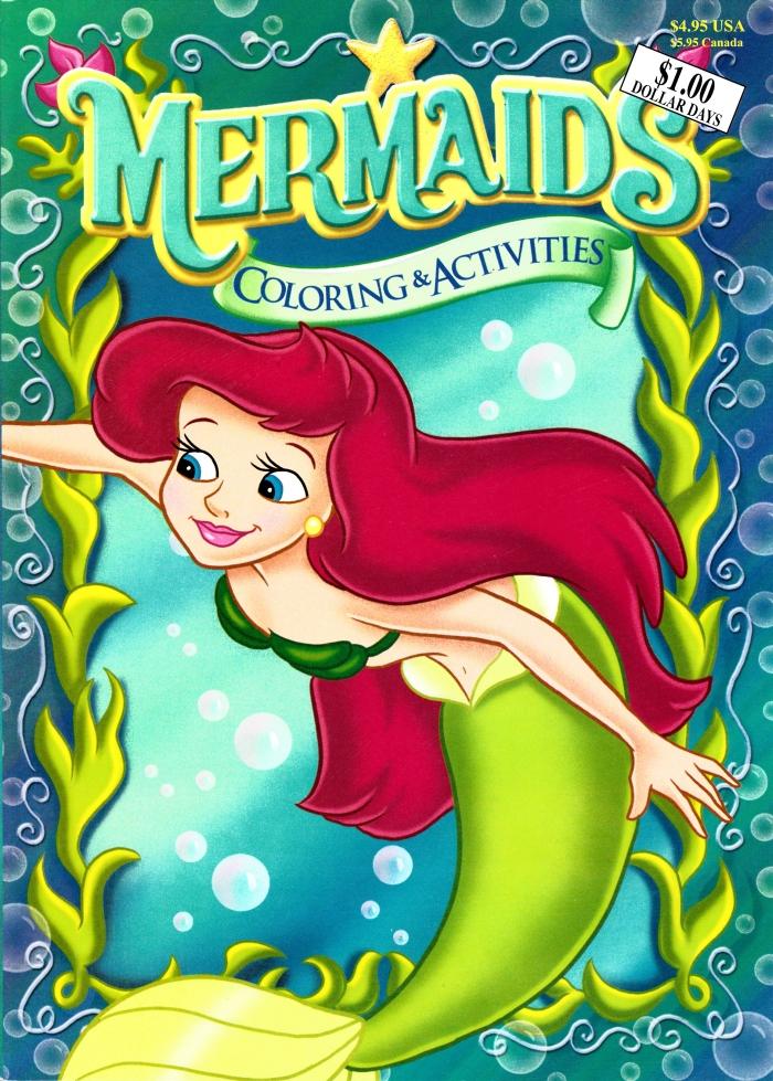 Mermaids Coloring & Activities