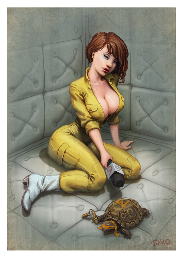 April O'Neil by Ben Newman
