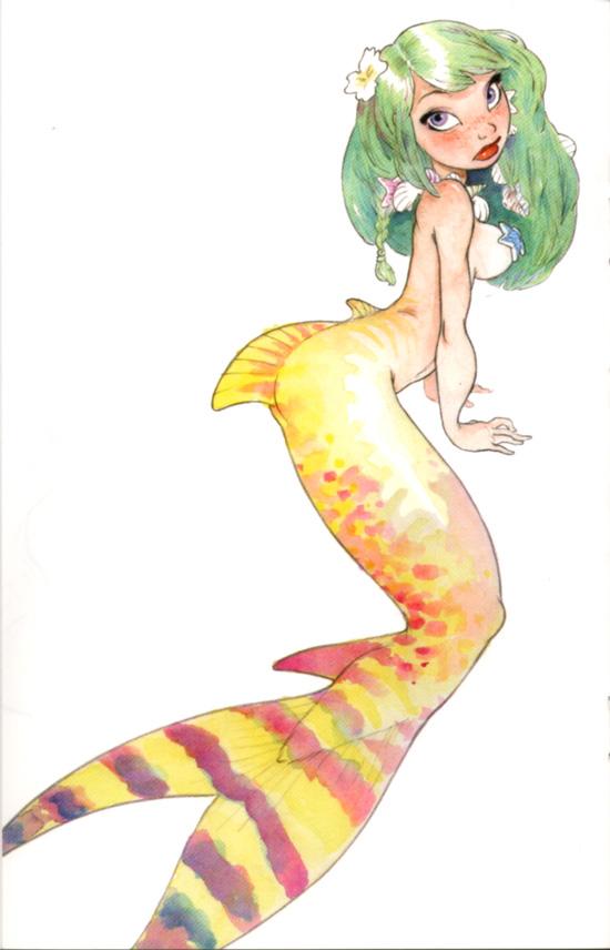 Chris Sanders Mermaid