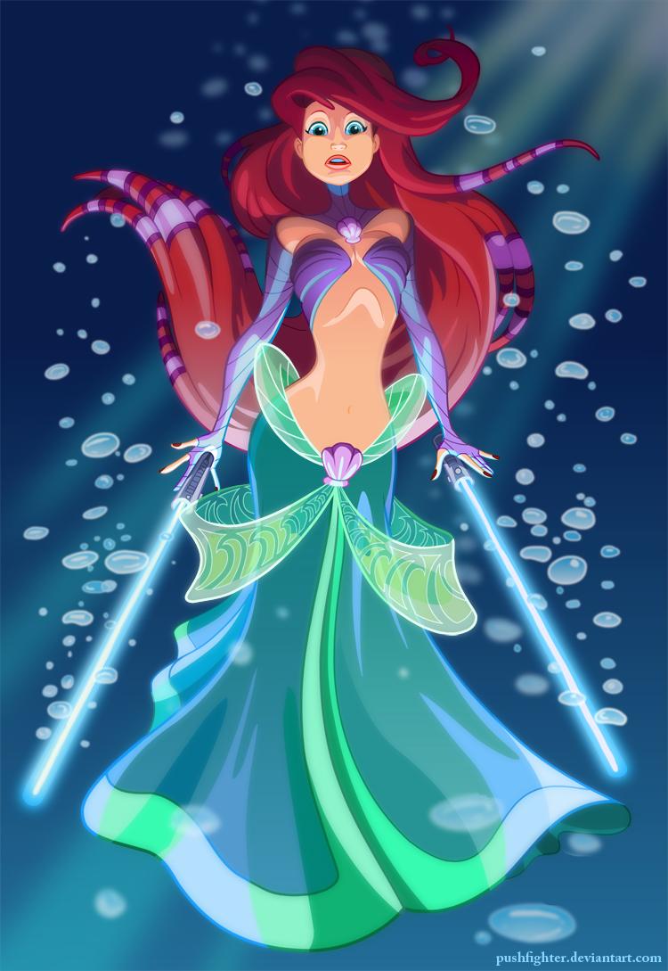 Jedi Ariel by Ralph Sevelius