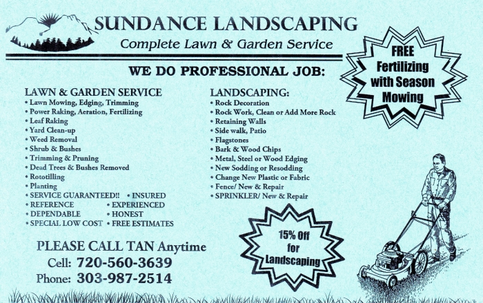 Sundance Landscaping