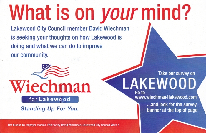 Wiechman for Lakewood