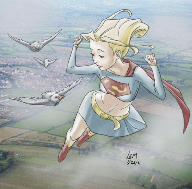 Supergirl by Lauren Montgomery