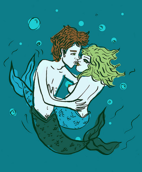 Mermaid Make-Out