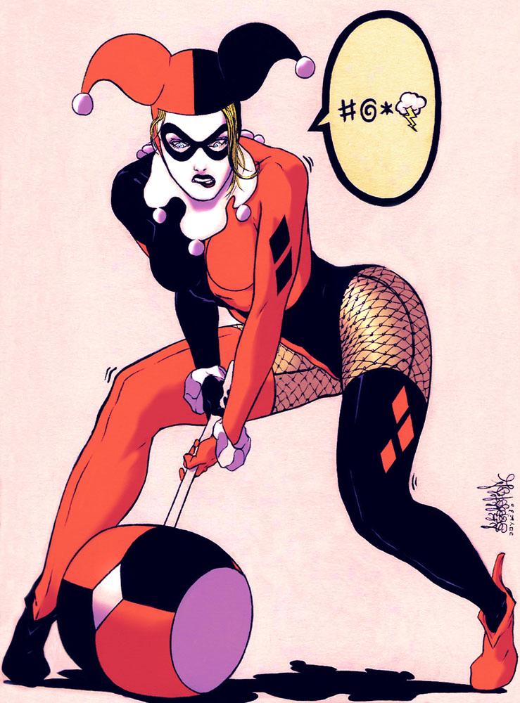 Harley Quinn by Garnabiel