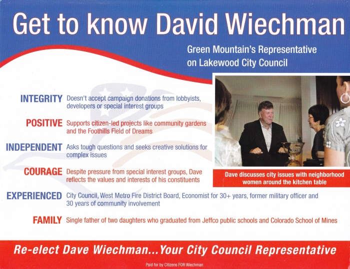 Citizens FOR Wiechman