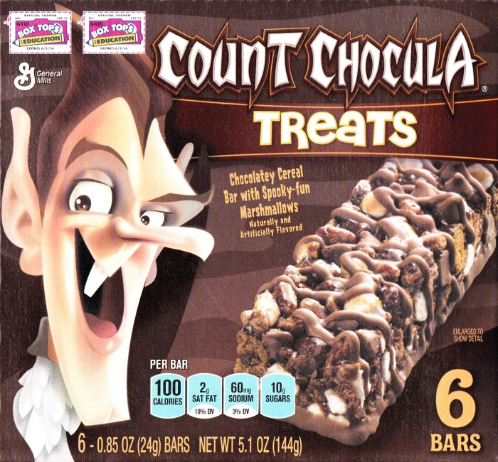 Count Chocula Treats