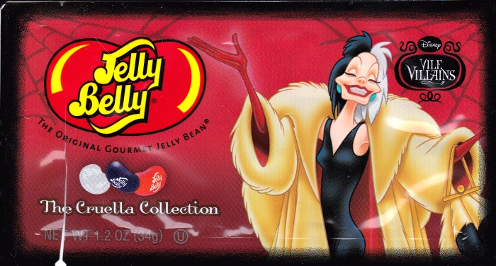 Jelly Belly Cruella DeVil front