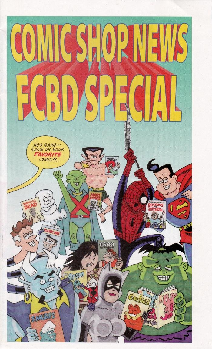 Comic Shop News FCBD 2013