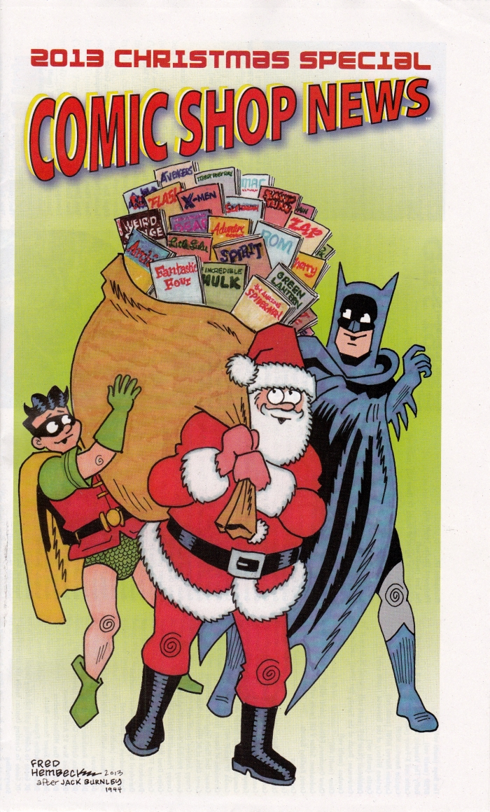Comic Shop News 2013 Christmas Special