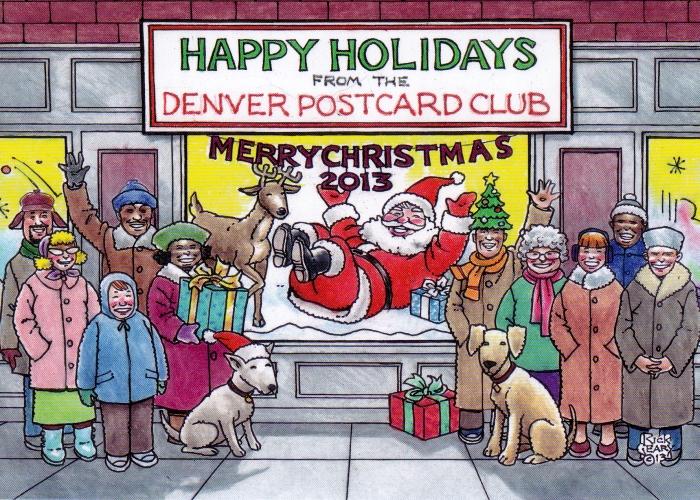 DPC Christmas Postcard 2013