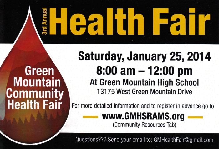Green Mountain Community Health Fair
