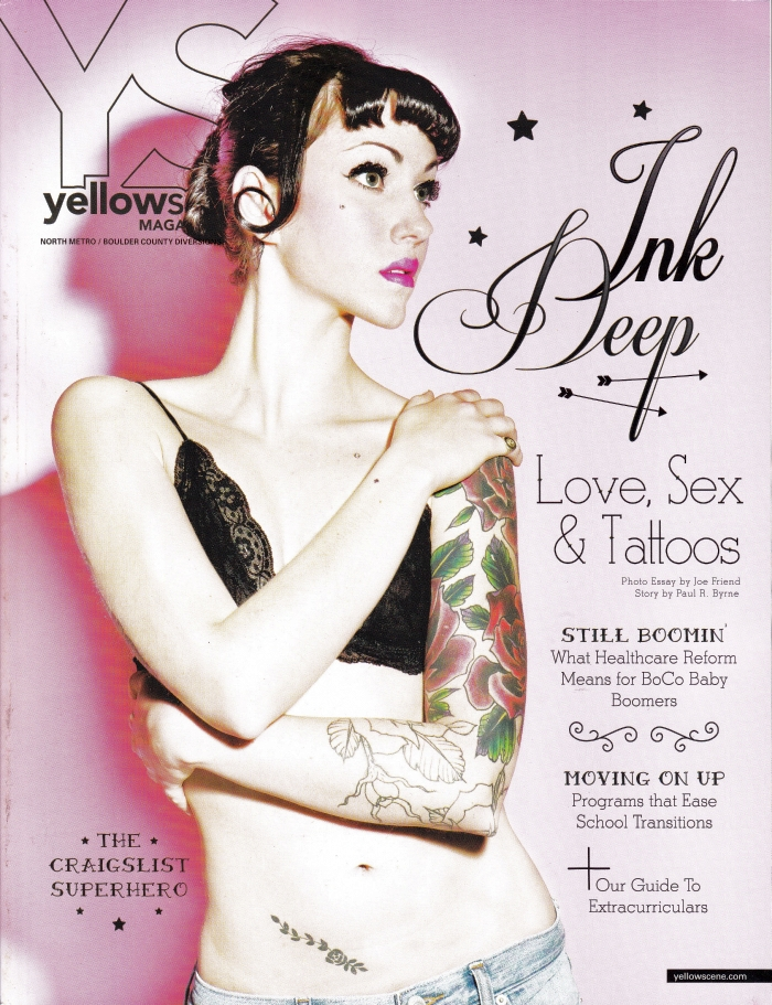 Yellow Scene Magazine December 2013