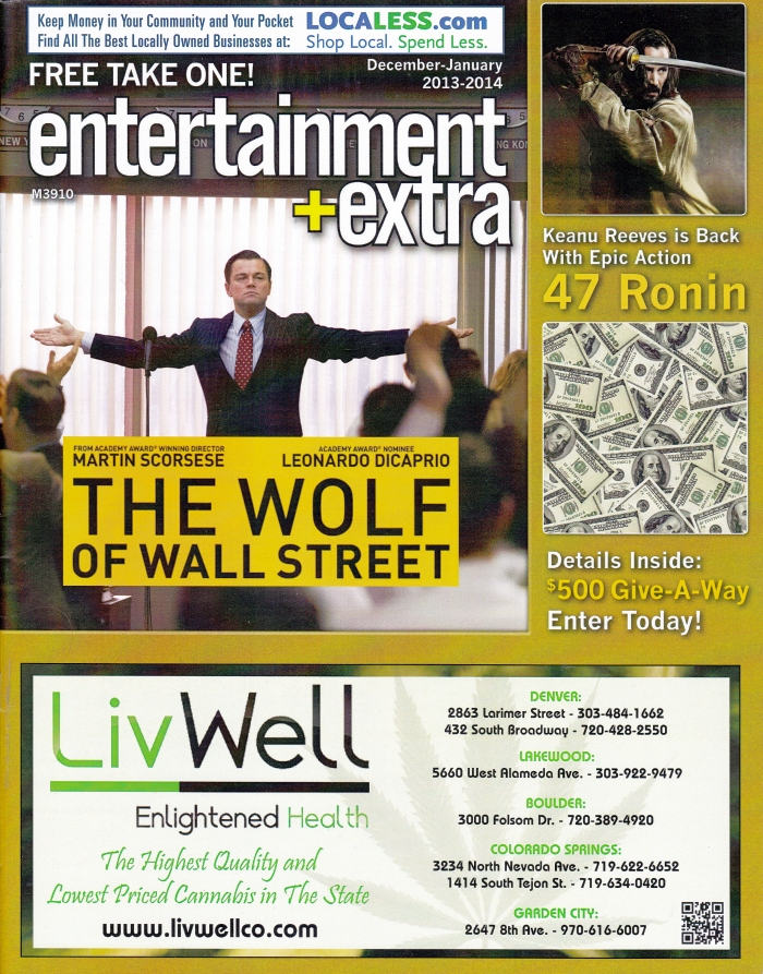Entertainment + Extra December 2013