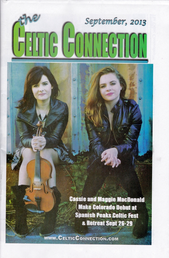Celtic Connection September 2013